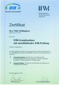 KNX Seminar Elektro Hillen Mike Mellinghaus